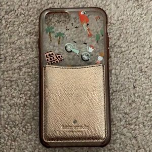 Rifle iPhone 6/6S Case with Kate Spade card holder
